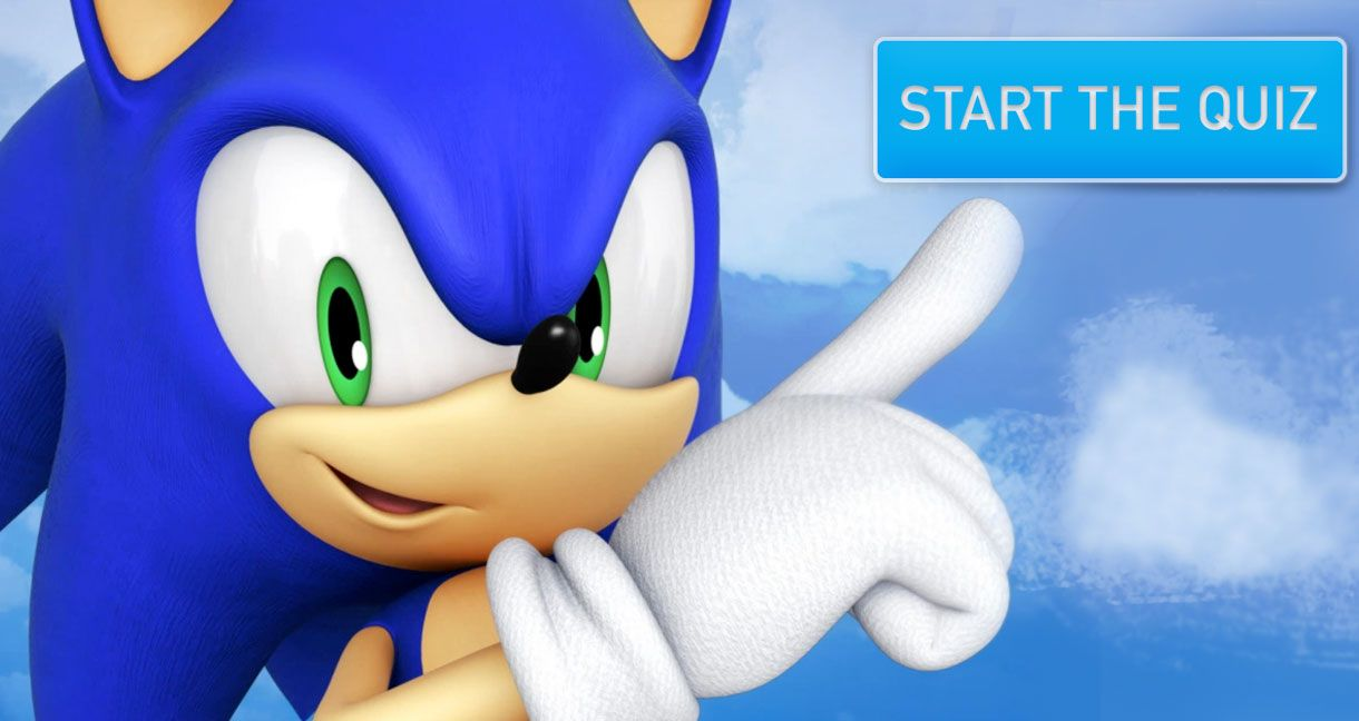 Are You The Biggest Sonic The Hedgehog Fan Thequiz