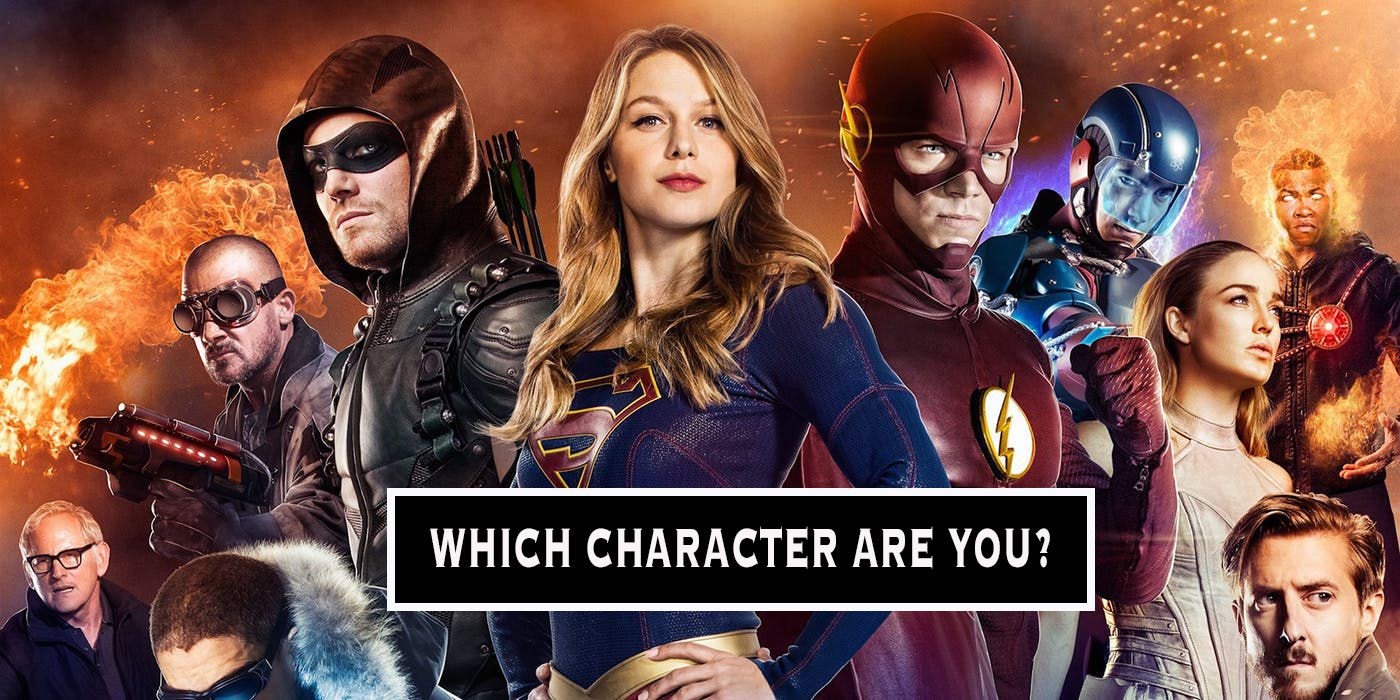 Which Arrowverse Character Are You Thequiz