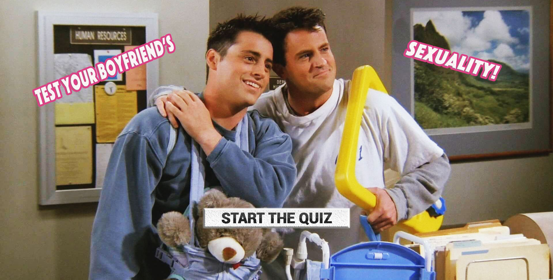 If You're Unsure About Your Boyfriend's Sexuality, Take This Test