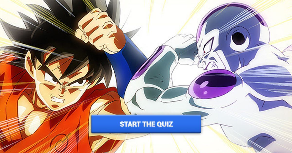 This Is The Hardest Dragon Ball Z Quiz Ever! Can You Pass It?