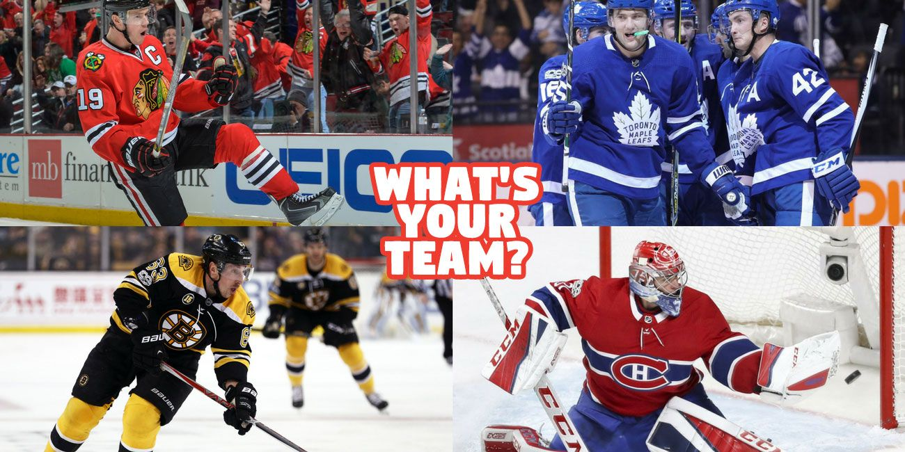 Bet We Can Guess Your Favorite Hockey Team In 3 Minutes Or Less