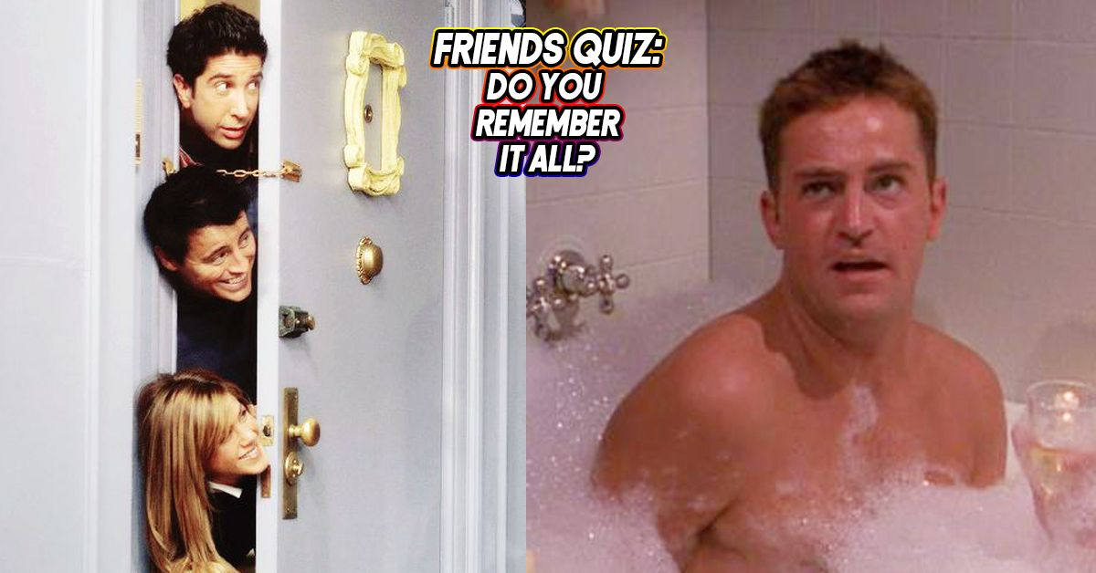 You Can Only Pass This Friends Quiz If You\'ve Watched Each Season ...