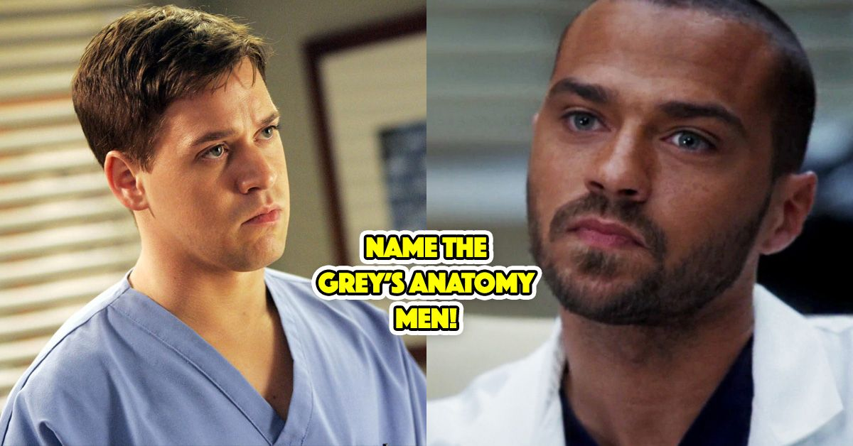 We Bet You Can\'t Name All These Grey\'s Anatomy Men! | TheQuiz