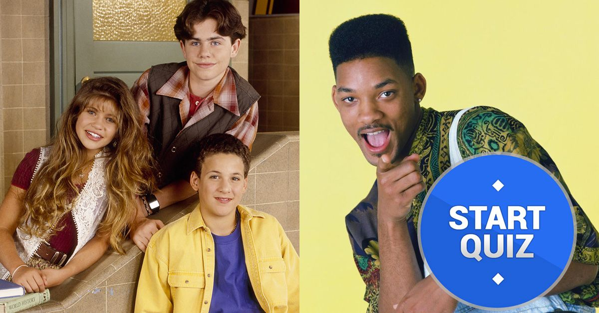 Only 1/30 People Can Pass The Impossible 90s Sitcom Quiz