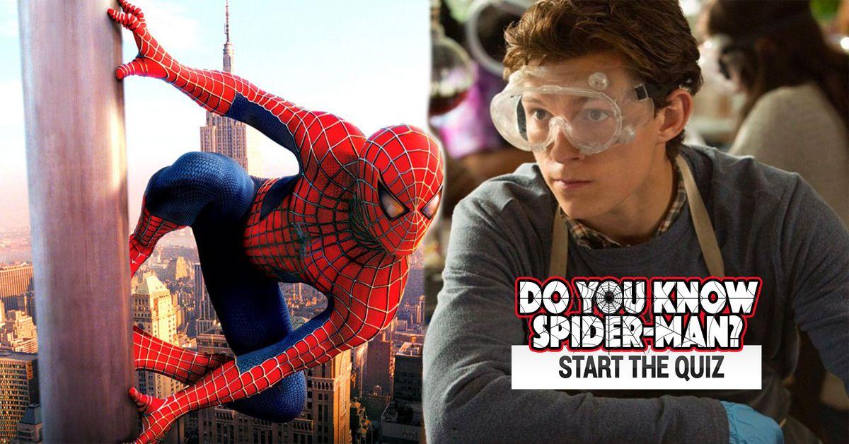 On This Spider-Man Quiz